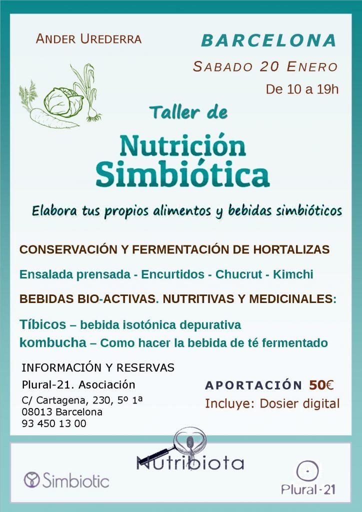 Taller - Nutrición simbiótica con microorganismos regenerativos @ Plural-21. Asociación | Barcelona | Catalunya | España