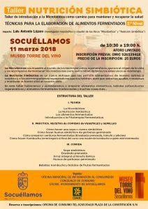 Taller NUTRICION SIMBIÓTICA  1er Nivel. Socuéllamos @ Museo Torre del Vino | Socuéllamos | Castilla-La Mancha | España