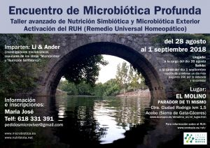 Encuentro de Microbiótica Profunda @ EL MOLINO PARADOR DE TI MISMO