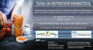 Taller NUTRICION SIMBIÓTICA  1er Nivel. Sant Cugat del Vallès @ Energyfeelings | Murcia | Región de Murcia | España
