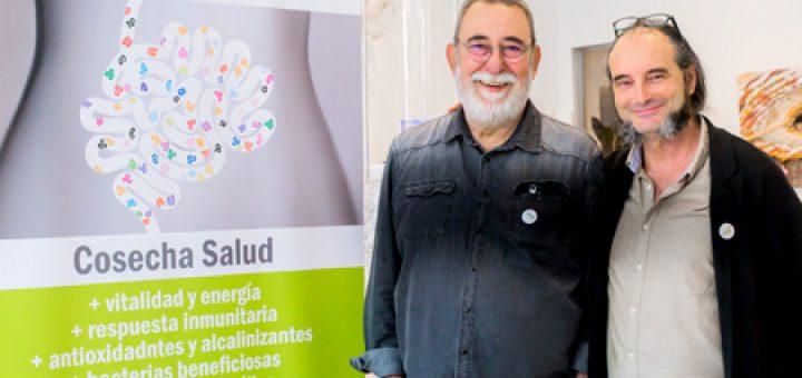 Fundador InMi Luis A. Lázaro y Máximo Sandín presidente honorífico