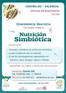 CONFERENCIA SOBRE NUTRICIÓN SIMBIÓTICA @ Centro Do