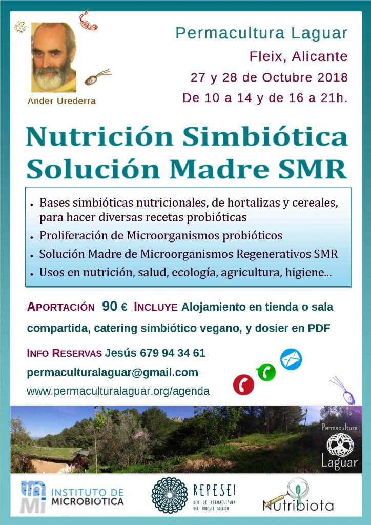 Nutri-Simbiótica y SMR Solución Madre @ CENTRO PERMACULTURA LAGUAR