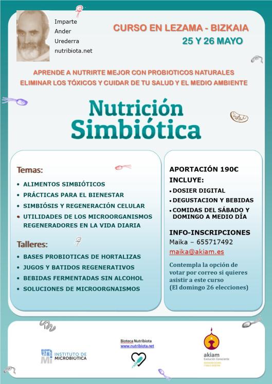 Curso. Nutrición Simbiótica. Bizkaia @ LEZAMA | Lezama | País Vasco | España