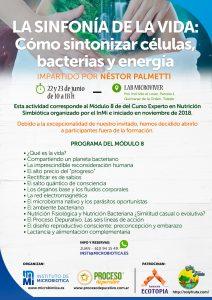 Taller Nestor Palmetti en Madrid: La sinfonía de la vida - Cómo sintonizar células, bacterias y energia. @ EO7 | Madrid | Comunidad de Madrid | España