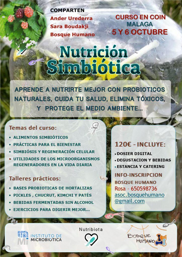 CURSO EN COIN MALAGA-PROBIOTICOS NATURALES, SALUD, HIGIENE BIOLOGICA, MEDIO AMBIENTE @ ASOC. BOSQUE HUMANO | Coín | Andalucía | España